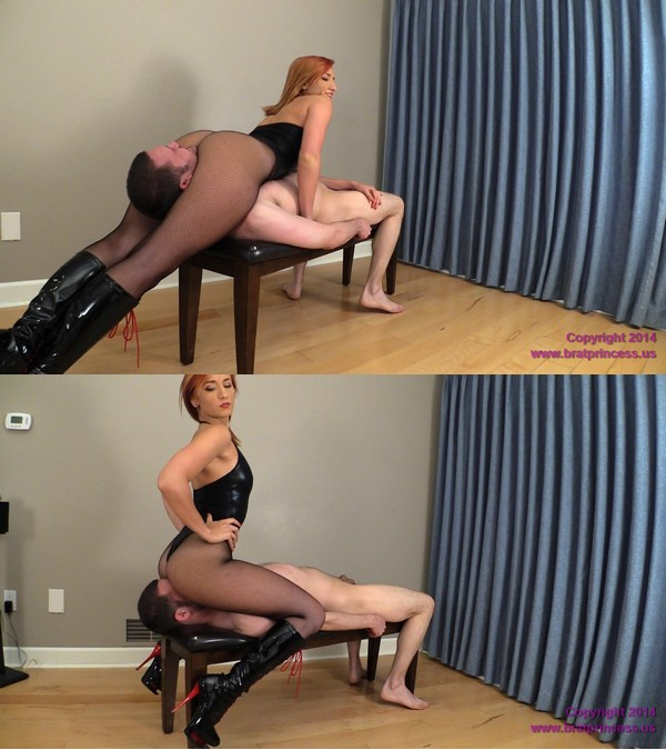 Brat Princess 2: Amadahy – Dominatrix Outfit Smother and Scissor (Lethal Legs) (1080 HD)