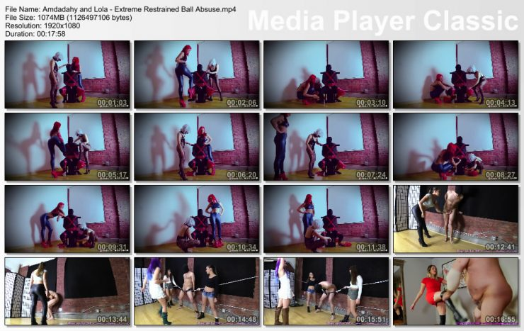 Brat Princess 2: Amadahy and Lola – Extreme Restrained Ball Abuse (1080HD) (Release date: Apr 18, 2020)