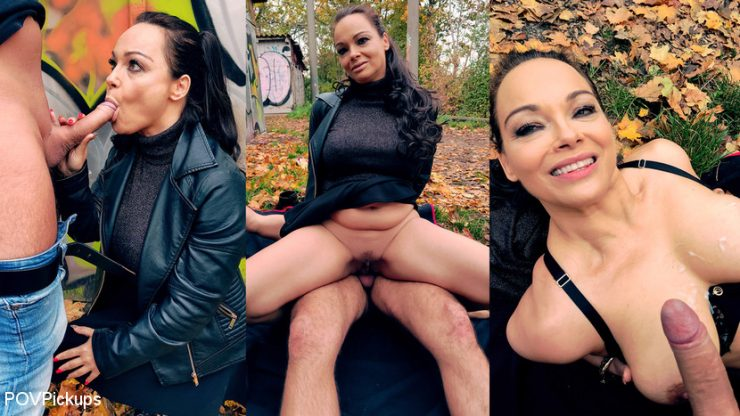 POV PICKUPS: July 1, 2020 – Dirty Priscilla, Andy Star/Dirty outdoor fuck with filthy MILF Priscilla