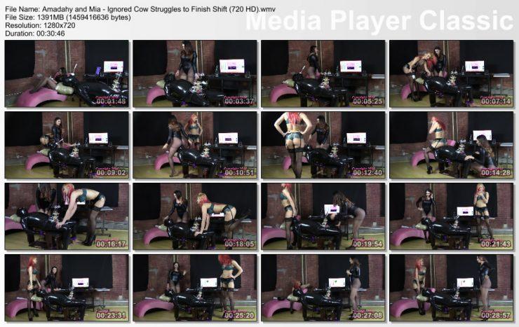 Brat Princess 2: Amadahy and Mia -Disregarded Cow Struggles to End Alter  (720 HD)