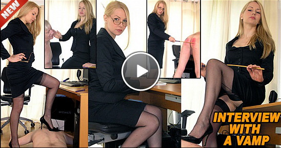 The English Mansion Mistress Eleise: Job interview with a Vamp (Finish Picture )