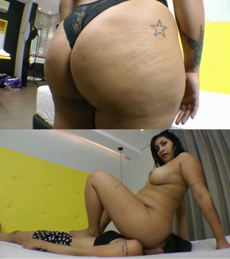 Big Ass Black Girl Backshots