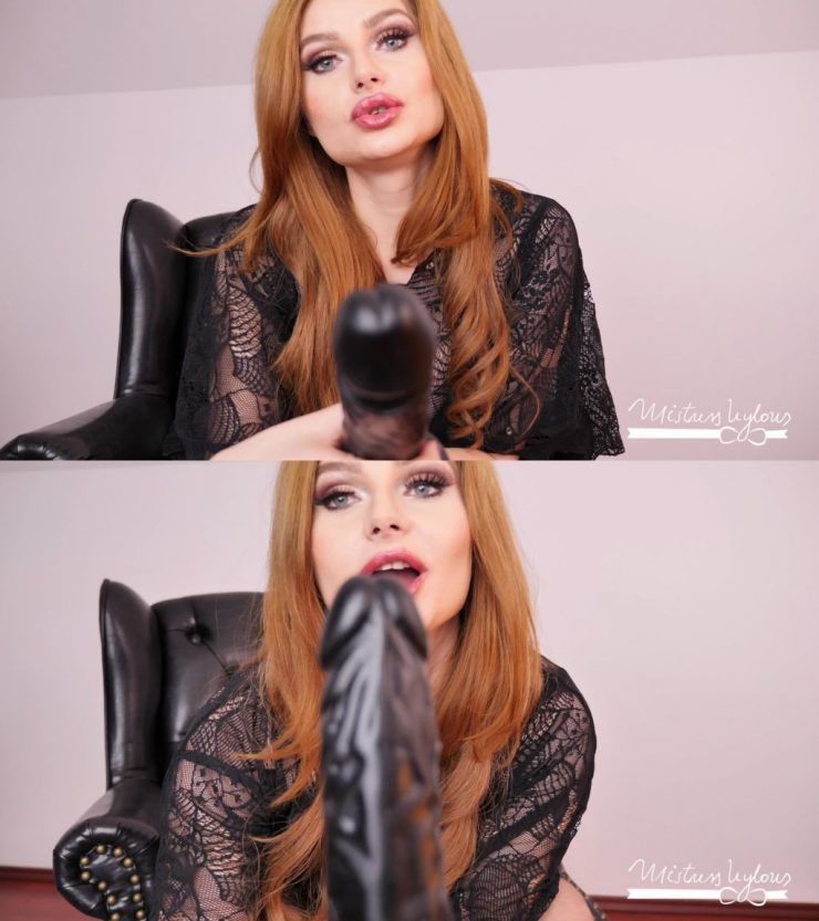 Mistress Nylons – Jerk Off Loser Fag and Suck Cock! – loser abuse