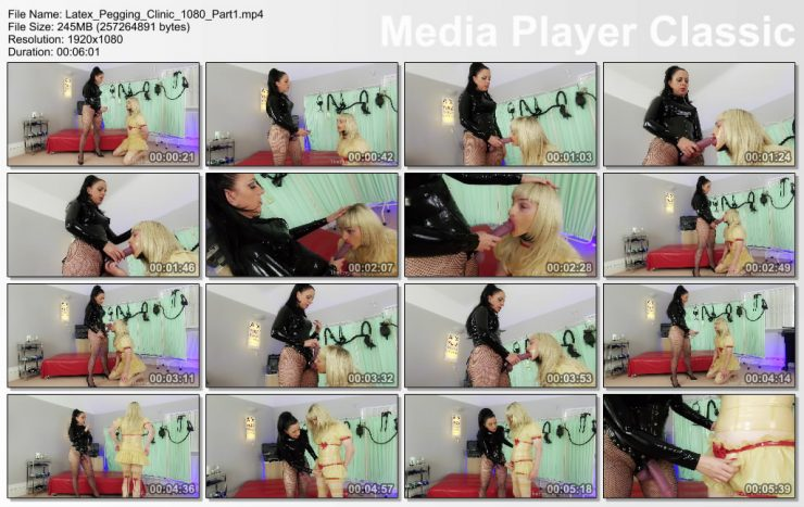 The English Mansion Lady Bellatrix: Latex Pegging Clinic (Part 1 of 4) (Release date: Oct 08, 2020)