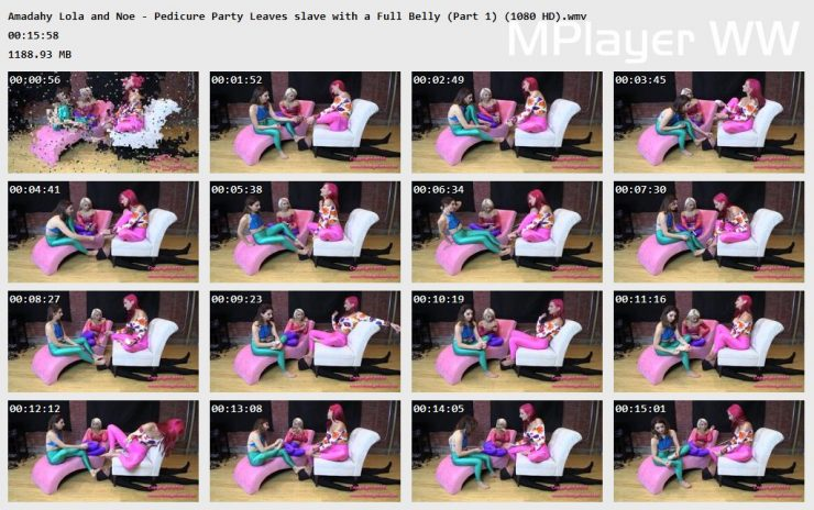 Brat Princess 2: Amadahy Lola and Noe – Pedicure Get Together Leaves Servant with the Full-belly (Portion 1 )  (1080 HD)