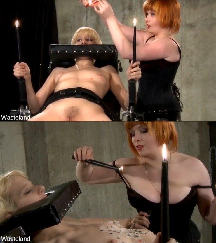 WASTELAND: March 23, 2021 – Ava Mir-Ausziehen, Mistress Irony/Human Candelabra – Small Tits