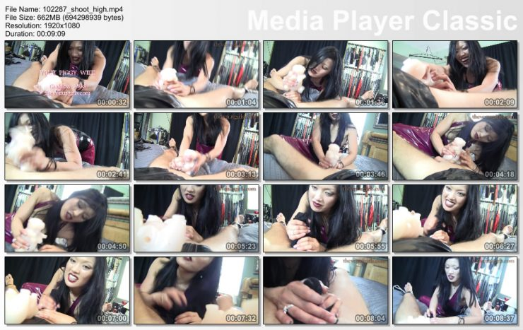 THE VENUS GIRLS: March 31, 2021 – Goddess Miki, Ian/FUCK YOUR PIGGY WIFE FOR GODDESS MIKI – Chastity Play