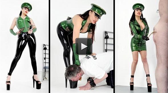 Femme Fatale Films Miss Velour: Velour's Victim – Super HD – strap-on worship