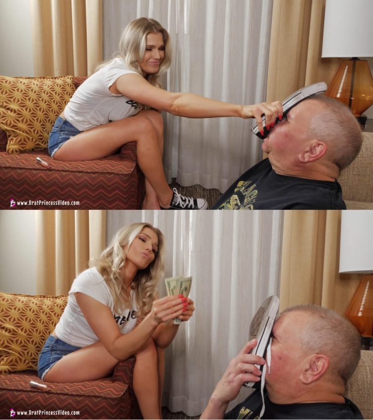 Brat Princess 2: Princess Amber – Victor is Cuckoo for Converse (4K)  (Release date: May 06, 2020)  –  FINANCIAL DOMINATION