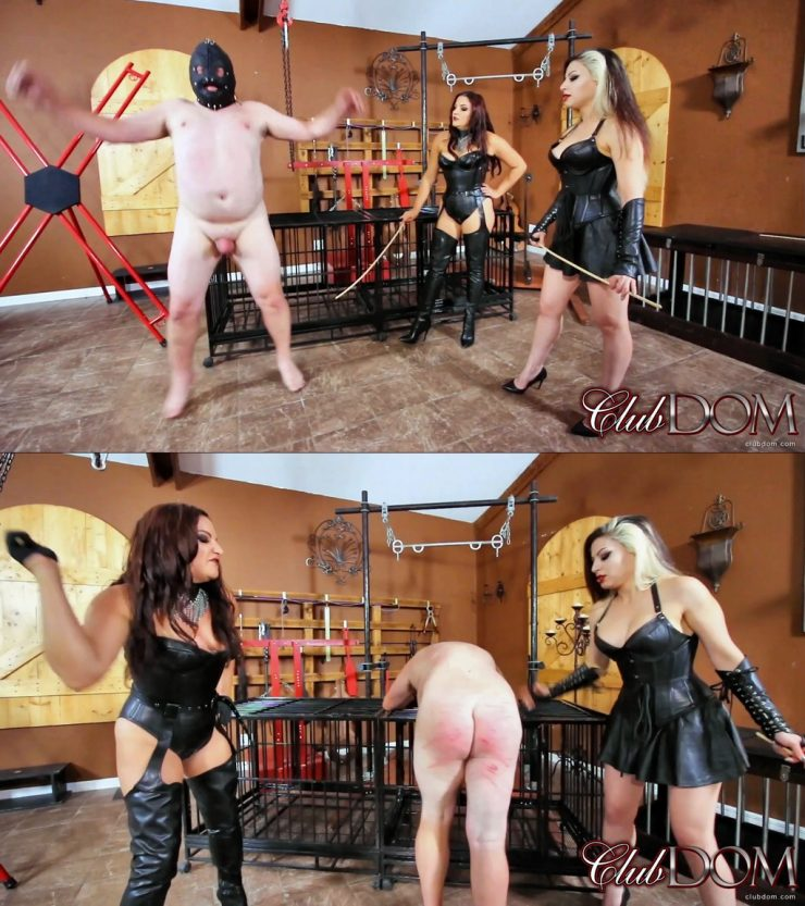 Club Dom Isobel Devi & Michelle Lacy: Michelle & Isobel Caning