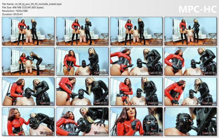 Club Dom Isobel Devi & Michelle Lacy: Michelle & Isobel POV – Masturbation Instruction