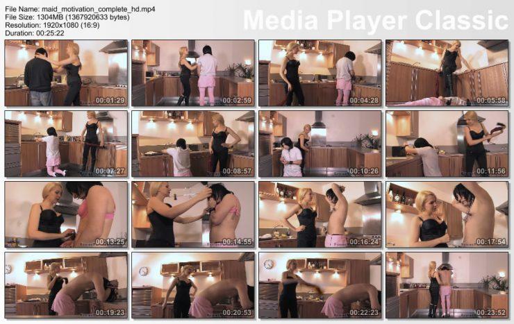 Femme Fatale Films Mistress Eleise de Lacy: Maid Motivation – Super HD – leather knee boots