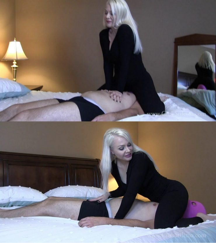 Club Stiletto Miss Madison: Please Me by showing Me how Long you can Hold your Breath – JEANS FACE SITTING