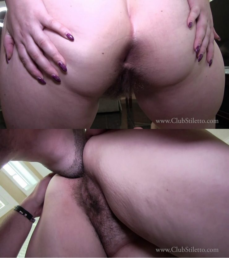 Club Stiletto Lady Katy: My Big, Dirty, Hairy Ass – BBW ASS WORSHIP