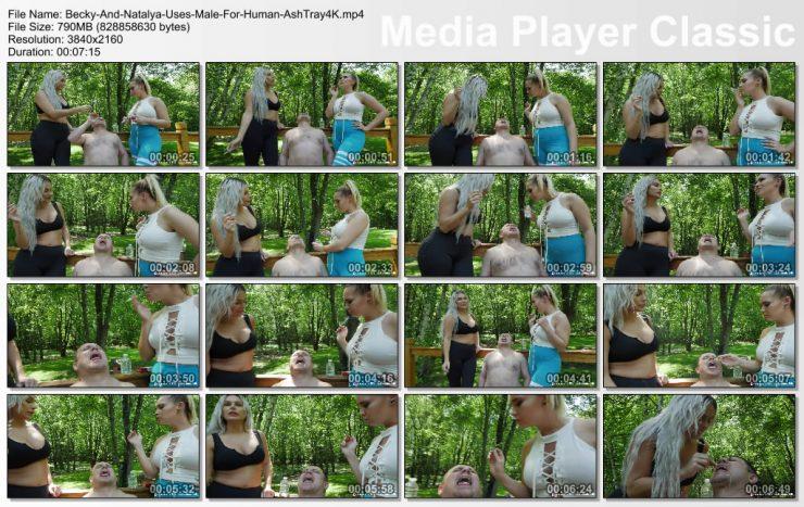 Brat Princess 2: Becky and Natalya – Use Male as Human Ashtray (4K)