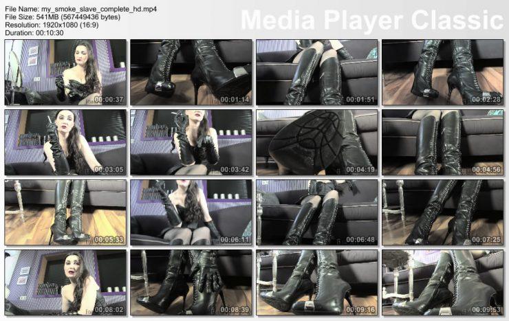 Femme Fatale Films Lady Victoria Valente: My Smoke Slave – Super HD – smoking