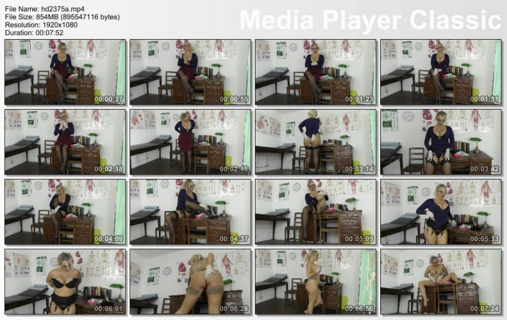 St Mackenzie's Miss Lee: Sexy Teacher Miss Lee Strips Completely Naked While Playing With Latex Gloves – LATEX