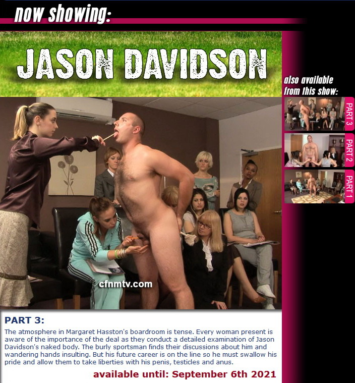 cfnmtv: Jason Davidson (Part 1-3)