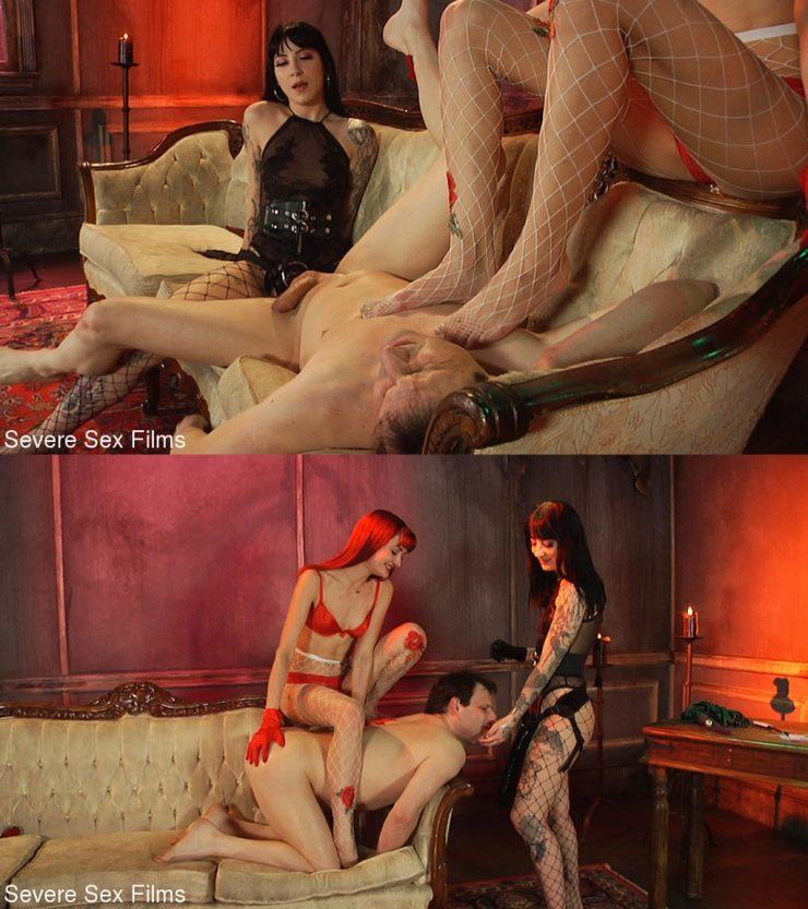 SEVERE SEX FILMS: July 15, 2021 – Zoe Sparx, Charlotte Sartre, Marcelo/Double Domination (Part 2 Of 2) – Cuckolding