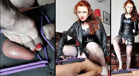 Femme Fatale Films Mistress Lady Renee: The Squash Board – Super HD