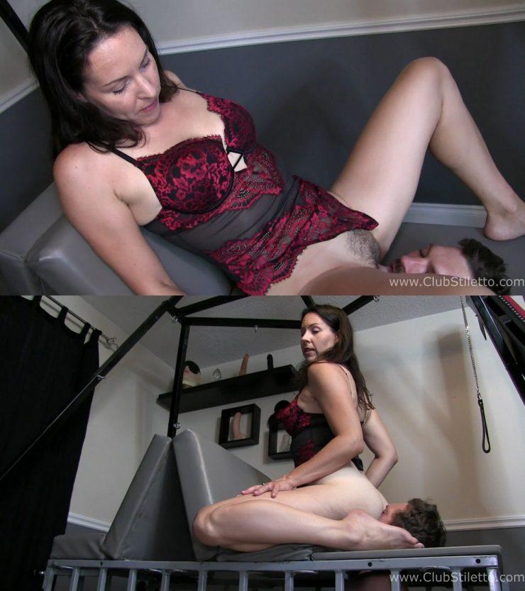 Club Stiletto/896 – club-stiletto-femdom Mistress Keres: Kenny's Arranged Marriage – Cum while eating His Cum