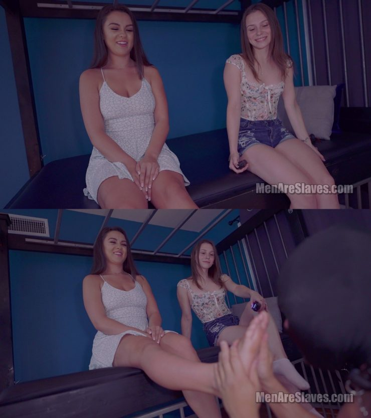 Men Are Slaves Princess Honey & Goddess Nicole: That's Why He's So Obedient, Part 3 (4K) – Foot Worship