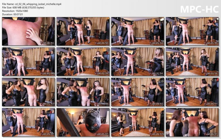 Club Dom Isobel Devi & Michelle Lacy: Whipping with Isobel & Michelle