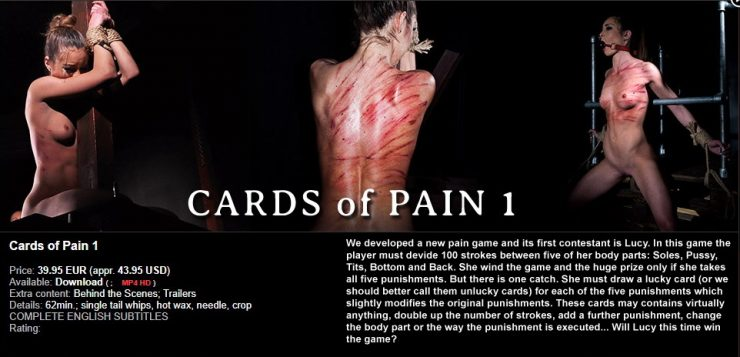 ElitePain: Cards of Pain 1