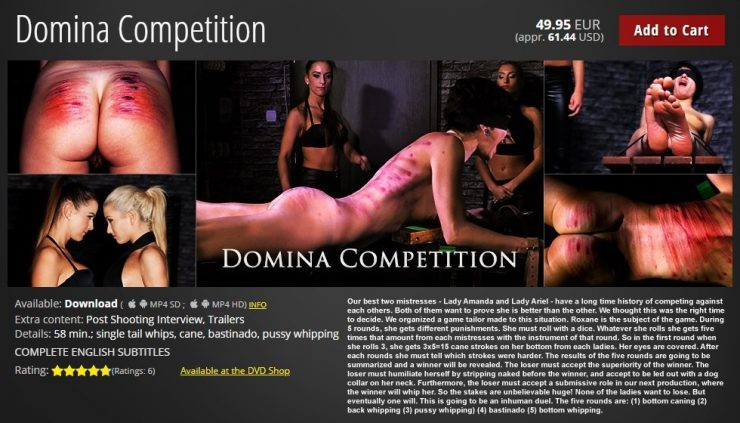 Elite Pain: Domina Competition