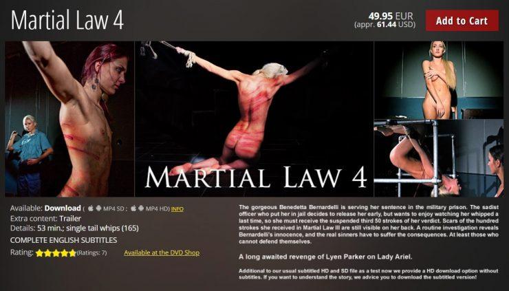 Elite Pain: Martial Law 4