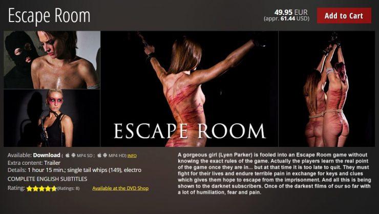 Elite Pain:  Escape Room