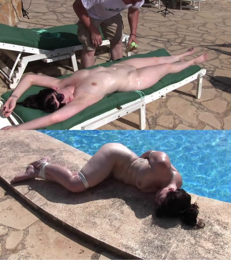 Xtremely Tight: Lew Rubens and Kaecie James Water Bondage