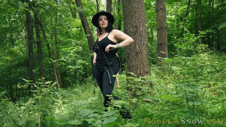 Goddess Alexandra Snow: Huntress Gets Her Prey