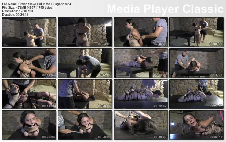Xtremely Tight: British Slave Girl in the Dungeon