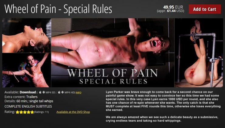 ElitePain: Wheel of Pain – Special Rules