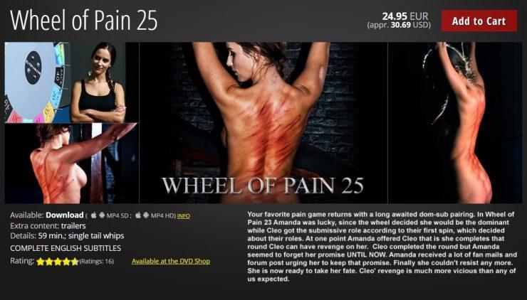 ElitePain: Wheel of Pain 25