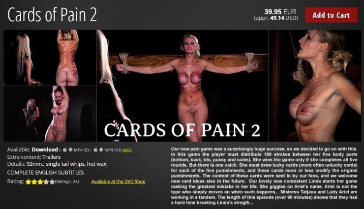 ElitePain: Cards of Pain 2